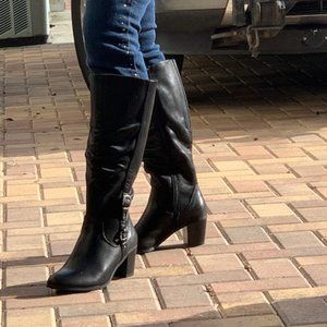 NEW Kim Rogers Ladies Wide Calf Oster Boots Size 7